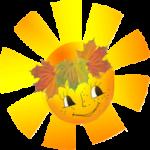 Песенка об осеннем солнышке
