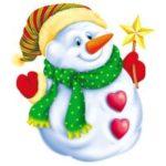Как Снеговик носик искал